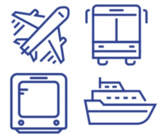 Biglietteria Aerea, Ferroviaria, Marittima e Bus